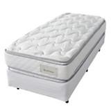 Juego exotic con pillow y resortes 1 1/2 Plaza 100 X 190 cm