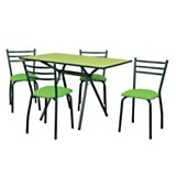 Juego de mesa Antonella + 4 sillas