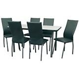 Juego de mesa London + 6 sillas