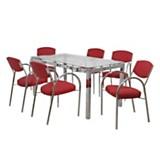Juego de mesa Paris + 6 sillas