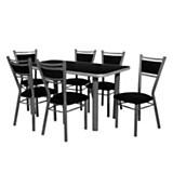 Juego de mesa 770 + 6 sillas