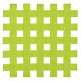 Posafuente de silicona 17 x 17 cm verde