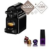 Máquina de café Inissia black