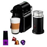 Cafeteras Nespresso Inissia Black + Aeroccino 3