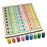 Sudoku Fichas de madera