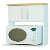 Mueble para microondas Blanco MCR060