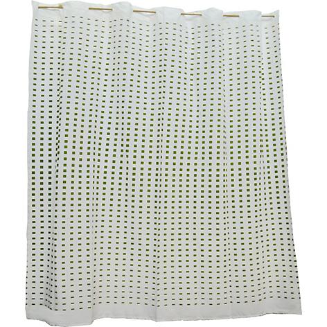 Mica Cortina De Ba O Degrade Verde 180 X 180 Cm