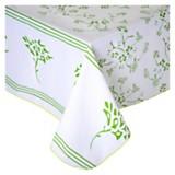 Mantel versalles verde 150 x 250 cm