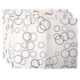 Set x 4 individuales burbujas de Ecocuero mafil 43 x 32 cm
