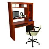 Mesa de computaci�n 1071 caoba