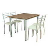 Juego de mesa MZ1100 + 4 sillas S2000