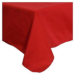 Mantel rectangular rojo 150 x 300 cm