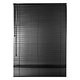 Persiana veneciana aluminio negro 90 x 160 cm