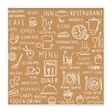 Cortina restaurant 150 x 150 cm