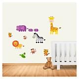 Wall sticker animal kids 65 x 50 cm