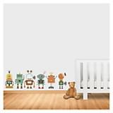 Wall sticker robots 65 x 50 cm
