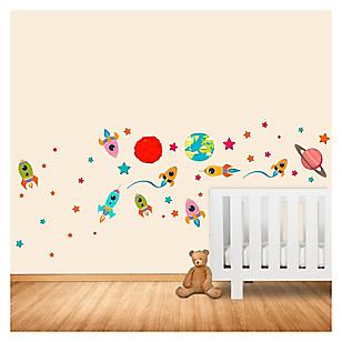 Wall sticker planetas 65 x 50 cm