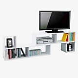 Rack de TV 2 m�dulos blanco