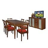 Juego de mesa imperiale + 6 sillas Laura