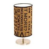 Velador cónico letras 30 cm