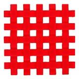 Posafuente silicona roja