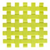 Posafuente de silicona verde