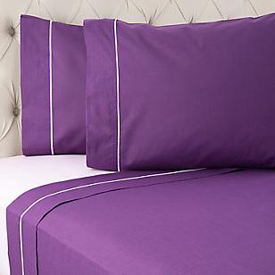 Juego de sábanas violeta 2 plazas