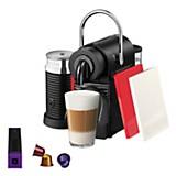 Máquina de café Pixie pack rojo y blanco + Aeroccino
