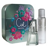 Cofre Crystal EDT 50 ml + desodorante 120 ml