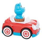 Hipopótamo con auto