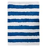 Alfombra de baño stripes azul