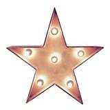 Estrella con luces 45 cm
