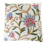 Almohadón bordado flower