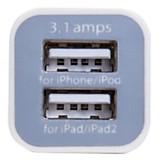 Cargador de auto 2 puertos USB