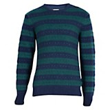 Sweater crew stripe
