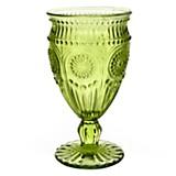 Copa de vino flower verde 16.5 cm
