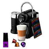 Máquina de café Pixie Clips Black Flavours + Aeroccino