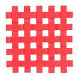 Posafuente silicona rojo