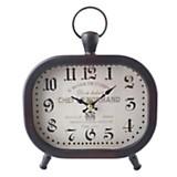 Reloj de mesa negro 20 cm