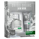 Cofre United dream  Aim High EDT 100 ml + afther shave 100 ml