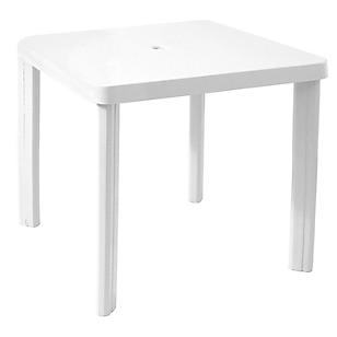 Mesa cuadrada con pata desmontable