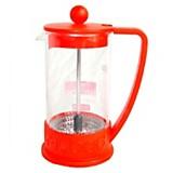 Cafetera embolo rojo 600 ml
