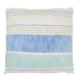 Almohadón Rayas azul  50 x 50 cm