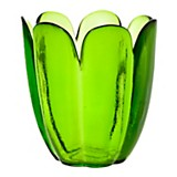 Florero de vidrio 20 cm