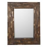 Espejo de madera 128 x 98 cm