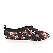Zapatillas floreadas