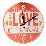 Reloj de pared love
