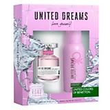 Cofre United Dreams Love Yourself EDT 80 ml + desodorante 100 ml