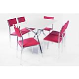 Juego de mesa Roma + 4 sillas Dali