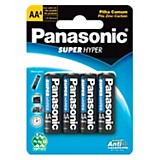 Pilas alcalinas AA x4 Super Hyper